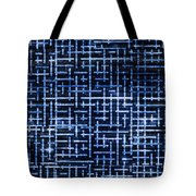 Stick Labyrinth Tote Bag