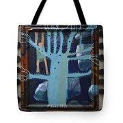 Sticker Tree - Framed Tote Bag