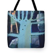 Sticker Tree Tote Bag