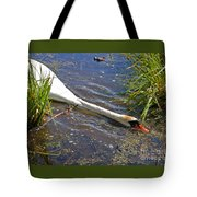 Sticking His Neck Out Tote Bag