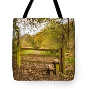Stile In Plessey Woods Tote Bag