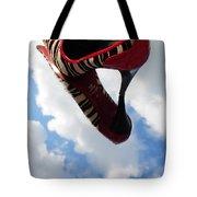 Stilettos Gone Zebra Tote Bag