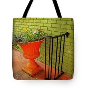 Still Life In Colorful Alley  Tote Bag