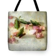 Still Life In Rough Linen Tote Bag
