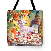 Still Life In Taormina Tote Bag