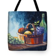 Still Life In Watercolours Tote Bag