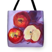 Still Life Kitchen Apple Painting Tote Bag