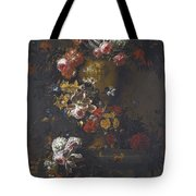 Still Life Of Roses Tote Bag