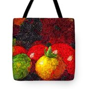 Still Life Tomatoes Fruits And Vegetables Tote Bag