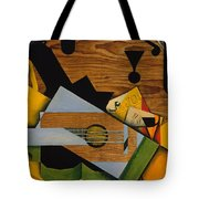 Still Life With A Guitar Tote Bag