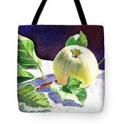 Still Life With Apple Tote Bag