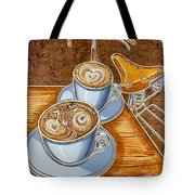 Still Life With Bicycle Tote Bag