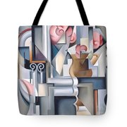 Still Life With Brown Jug Tote Bag