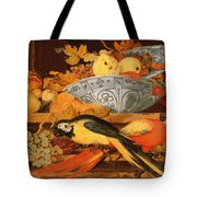 Still Life With Fruit And Macaws, 1622 Tote Bag