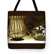 Still Life With Golden Vase Tote Bag
