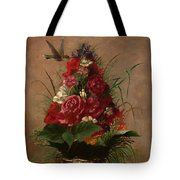 Still Life With Hummingbird Tote Bag