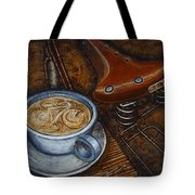 Still Life With Ladies Bike Tote Bag by Mark Jones