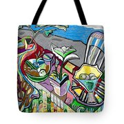 Still Life With Clouds Tote Bag