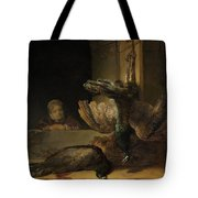 Still Life With Peacocks Tote Bag