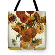 Still Life With Sunflowers Tote Bag