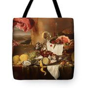 Still Life With View Tote Bag