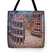 Still Stadium Tote Bag by Mark Jones