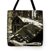 Still Standing Tote Bag by Leah Moore
