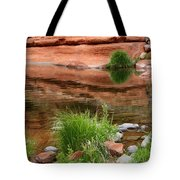 Still Waters At Slide Rock Tote Bag