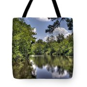 Still Waters Tote Bag by David Troxel