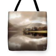 Stillness Of The Water Tote Bag