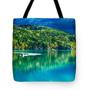 Stillness On The Kenai Tote Bag