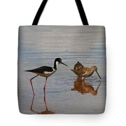 Stilt And Dowitcher  Tote Bag