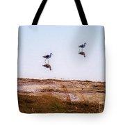 Stilt Birds Tote Bag