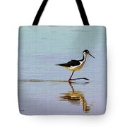 Stilt Out For A Stroll Tote Bag