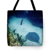Stingray On The Bottom Tote Bag