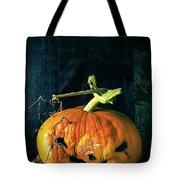 Stingy Jack - Scary Halloween Pumpkin Tote Bag