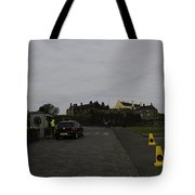 Stirling Castle And The Parking Area For The Castle Tote Bag