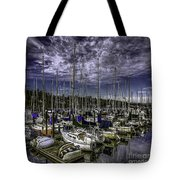 Stirring The Sky Tote Bag