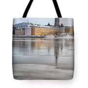 Stockholm Winter Tote Bag