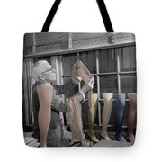 Stocking Inspector Tote Bag