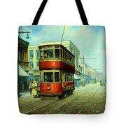 Stockport Tram. Tote Bag