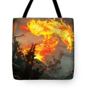 Stoke The Flames Tote Bag
