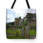 Stokesay Castle 2 Tote Bag