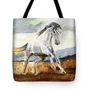 Stomping Ground Tote Bag by Judy Kay