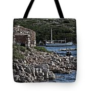 Roman Port Of Sa Nitja In Minorca - Stone And Sea Tote Bag