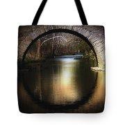 Stone Arch Bridge - Brick Texture Tote Bag