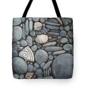Stone Beach Keepsake Rocky Beach Shells And Stones Tote Bag