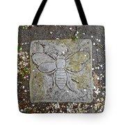 Stone Bee In Jim Thorpe Pa Tote Bag