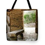 Stone Bench Tote Bag