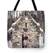 Stone Chapel In The Woods Trapp Family Lodge Stowe Vermont Tote Bag
